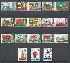 BAHAMAS 1971 SG 359/376 Fine Used Cat £55