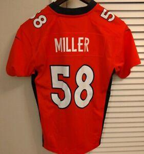 Boys Nike Von Miller Denver Broncos Medium Jersey NWT