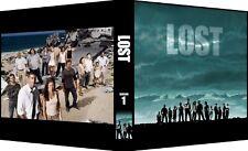 Lost Custom 3-Ring Binder Photo Trading Card Album Matthew Fox/Evangeline Lilly