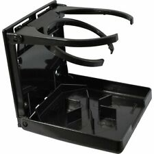 Attwood Fold-Up Drink Holder Dual Ring Black 2445-7
