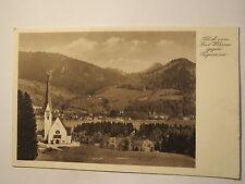 Blick von Bad Wiessee gegen Tegernsee / AK