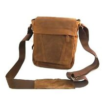 BORSELLO A TRACOLLA UOMO BAG IN VERA PELLE VITELLO, MOD: CRAT - VINTAGE
