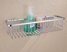 Stainless Steel Bathroom Accessories Shower Wire Basket Storage Shelves