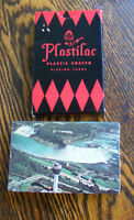 Niagra Falls Plastilac Plastic Coated Playing Cards Arrco Canada TTD Sealed