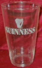 Guinness Pint Glass with logo...Standard U.S. Pint Glass....NEW