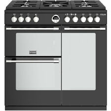 Stoves Sterling Deluxe S900G 90cm 5 Burners A/A Gas Range Cooker Black New from