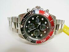 Invicta Pro Diver Quartz Chronograph Watch Black Red 1770