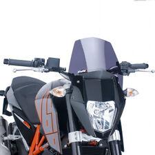 Puig Motorcycle Windshield Screen Dark Tint KTM 690 Duke 2012-2018