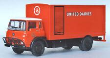 22911 Efe Bedford TK 2 Eje Corta Rígido Caja Furgoneta Camión United Dairies