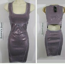 NWT BEBE LAYLA SEQUIN SWEATER LUXE DRESS SIZE XS You're pretty much set! So Sexy