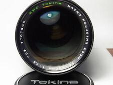 Obiettivi Tokina con tappo anteriore per fotografia e video
