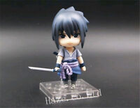 Naruto Sasuke Uchiha ShippudenNendoroid PVC Figure Toy Statue With Box