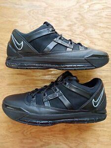 Nike Zoom Lebron III (3) Low - Size 11.5 - Black Ice Blue