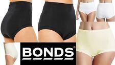 Bonds 3 Cottontail Ladies Full Briefs Bulk Buy Plus Size 24 26 Ivory Black White