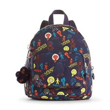 Kipling Mini Backpack MUNCHIN Childs BRIGHT LIGHT Print RRP £59