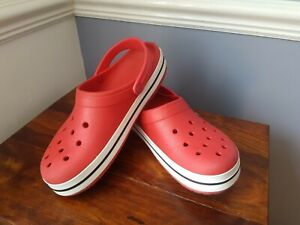 CROCS Red Size 9-10 (M10 W12)