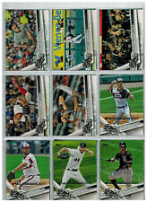 21 x Baseballcards 2017 Topps All-Star Game Silver Chicago White Sox Team Set