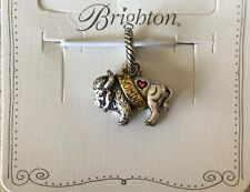 "Brighton Charm Wyoming ""Bison"" States Collection J91512"