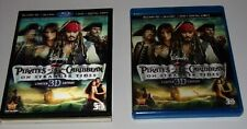 Pirates of the Caribbean: On Stranger Tides (Blu-ray/DVD, 2011, 5-Disc Set, Incl