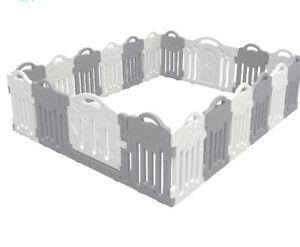 Bliss Brands Baby Playpen 18 Dino Panels + Door Portable Kids Play Yard Gate