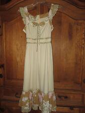 Vintage Jody T of  California Dress  Prairie  Peasant  Gunne Sax design  Small