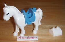 Lego Cinderella White Horse & Saddle 41053 Carriage Disney Ranch Animal