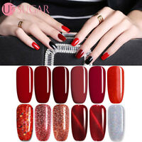 7.5ml Christmas Red Collection Nail UV LED Soak Off Gel Polish  UR SUGAR