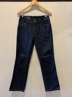 SABA - Copenhagen 30 Straight Indigo Blue Denim Jeans, Womens denim Jeans