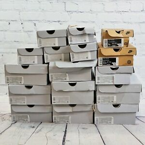 Lot of 16 Assorted Never Used in Box Kids / Youth Air Force 1 Shoes -BBR2251
