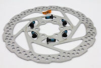 160mm Bicycle Bike MTB Disc Brake Rotor Brake Pad W/ 6 Bolts For Shimano SM-RT56