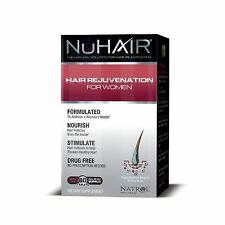 NuHair Hair Rejuvenation for Women Hair Regrowth Natrol 60 Tablets