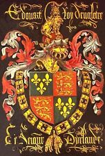 MAGNET COAT of ARMS King Edward IV Order of the Golden Fleece 15th Century