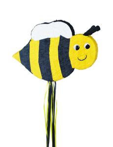 Bumble Bee Pull String Pinata - Bumblebee Birthday Party Supplies