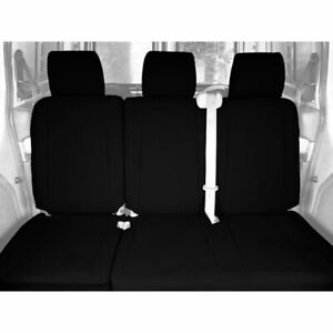CalTrend Faux Leather Rear Custom Seat Cover for Ford 2010-2012 Escape - FD375