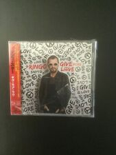 Give More Love by Ringo Starr (CD, Sep-2017) / Japanese / Brand New / Sealed