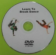 Learn To Break Dance DVD Beginners Tutorial