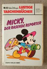 Erstausgabe/Erstauflage - LTB Nr. 63 - 4,50 DM / 1979 - Lustiges Taschenbuch