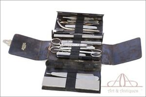 Antique Mathieu Surgical Tool Pocket Set or Wallet. France, Circa 1920