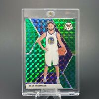 GREEN PANINI MOSAIC Klay Thompson HOLO REFRACTOR -MINT/NM -INVEST -w/ CASE