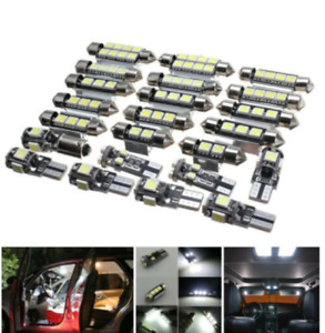 23tlg Innenraumbeleuchtung Lampe LED Auto Licht T10 SMD Birne 5050 Leselicht