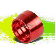 """RED 6-AN 3/8"""" TUBE OLIVE INSERT FITTING ADAPTER FOR PTFE/NYLON HOSE TUBING"""
