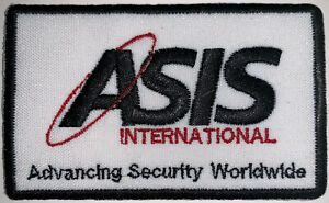 ASIS International Security Mercenary Soldier Patch Hook & Sew Repro New A648