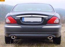 Fox Duplex Sportauspuff Jaguar X-type 115x85 schräg mit Abs.