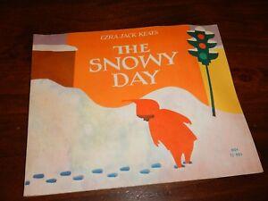 The snowy day bu Ezra Jack Keats first scholastic edition Paperback 1966