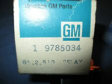 1971 1974 PONTIAC NOS HIGH BLOWER RELAY TAILGATE GRANDVILLE BONNEVILLE 9785034