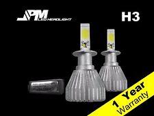 30W 3200LM H3 LED Fog Light Bulbs 6500K White High Power for Infiniti 97-01 Q45