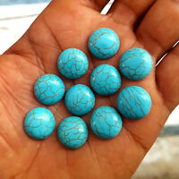 AAA Quality Natural Oyster Copper Turquoise Loose Gemstone Pear Cabochon 6X9M TO 10x14M Loose Gemstone Free Shipping