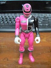 "2004 Syd Sydney Pink #5 Ranger 5.5"" Action Figure Power Rangers SPD Sound Patrol"