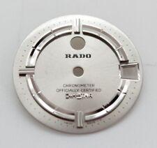 RADO  Mens Watch Dial DiaStar, Chronometer, Silver Color .  25.5mm in diameter