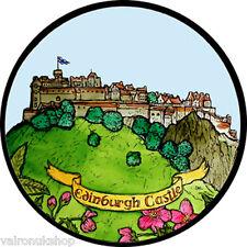 COLORATO VETRO FINESTRA ARTE-STATICO aggrapparsi Decorazione-Castello di Edimburgo